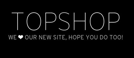 Topshop launches new website