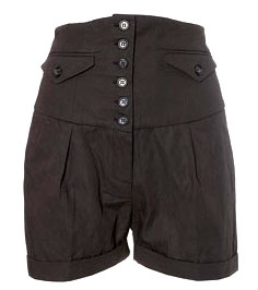 Topshop High waisted shorts