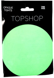 Topshop Neon Tights