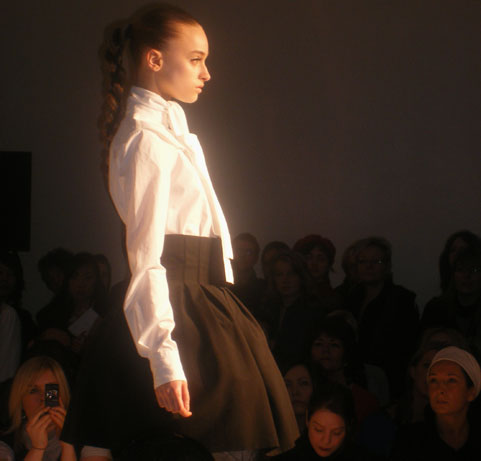 Jens Laugesen:London Fashion Week