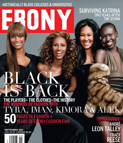 Ebony says Blacks are Back