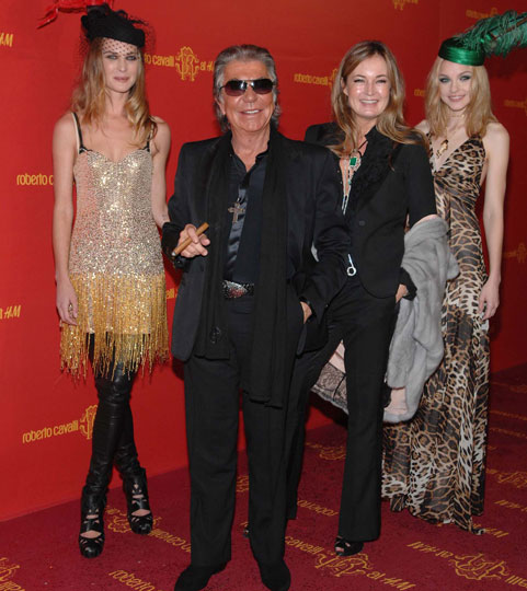 Feature: Roberto Cavalli gets the party started