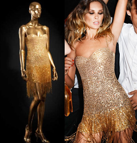 10 days 10 party dresses: Cavalli Sequinned Mini Dress