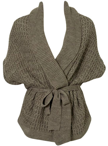 Shopping: Topshop Knitted Wrap Cardi