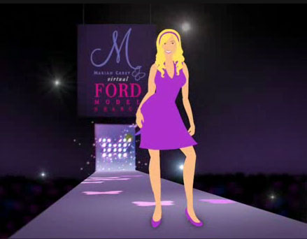 MTV and Ford host Virtual Model Contest for M by Mariah Carey