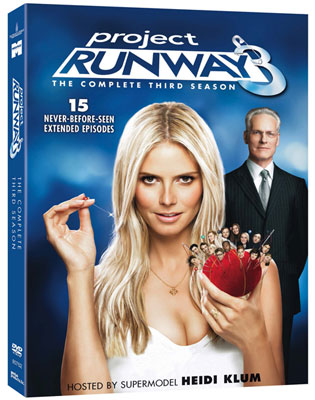 GIVEAWAYS: Project Runway Season 3 on DVD!