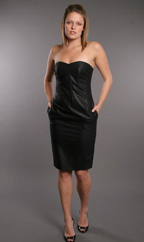 10 days 10 party dresses: Strapless Dress by Robert Rodriguez