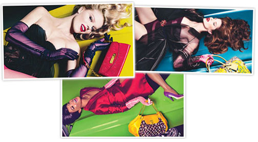 Louis Vuitton Supermodel Spring Campaign