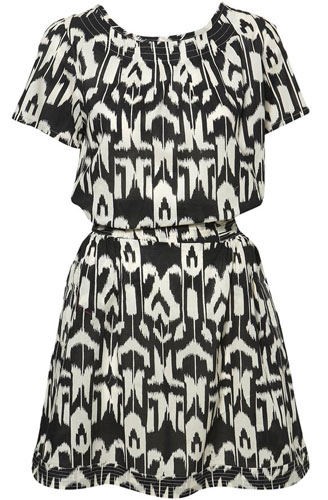 Shopping: Topshop Animal Print Dress
