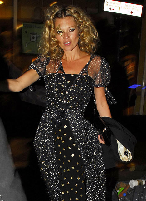 Kate Moss: Stars In Her Eyes!