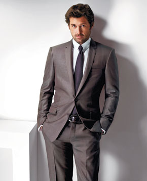 Patrick Dempsey does Spring in Versace