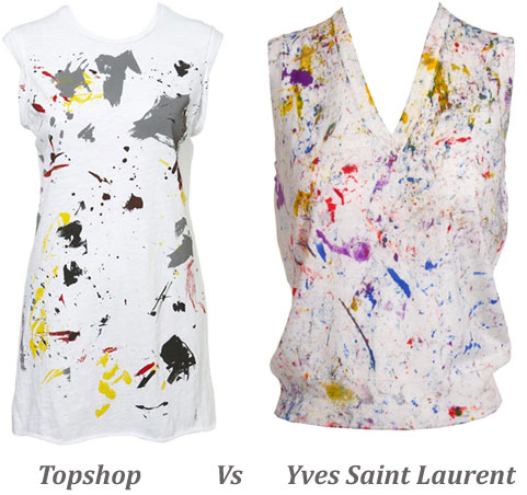 Steal Vs Splurge: Topshop or YSL?