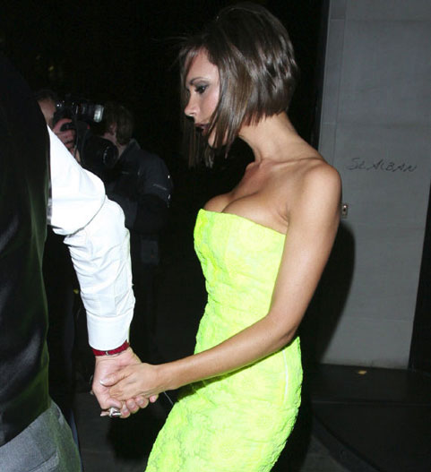 Victoria Beckham Tops Blackwells 2007 worst dressed list