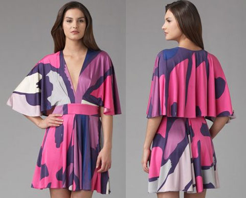 Spring Key Pieces: ISSA Kimono Mini Dress