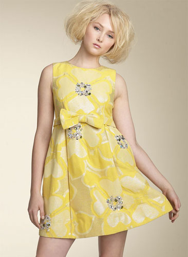 Dress Lust: M by MJ Clover Print Dress