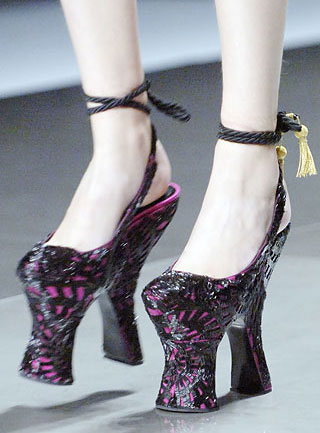 Stop you're killing us: Alexander McQueen