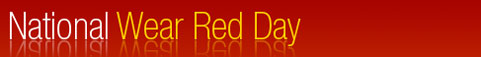 "National Wear Red Day: ""Fall in love with your heart"