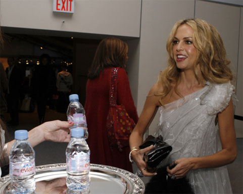 Rachel Zoe at NY Fashion Week AW08