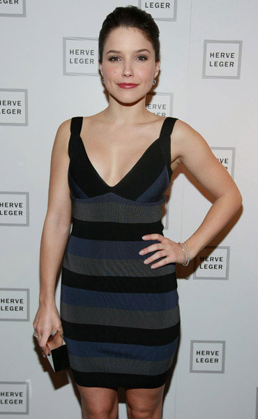 Sophia Bush sparkles in Jacob and Co. at Fashion Week!