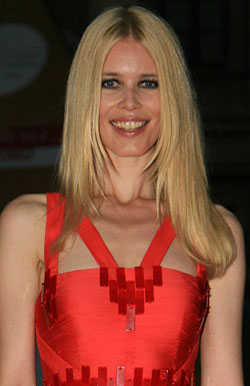 Claudia Schiffer's got a new job!