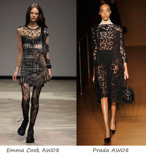AW08 Trends: Laced with style