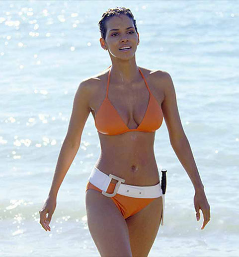 halle berry in a swimsuit