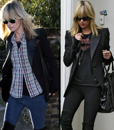 I wanna be Kate Moss or rather I want her Tuxedo Jacket!