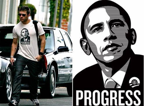 Hillary vs. Barack: Politically Stylish Designer T-Shirts