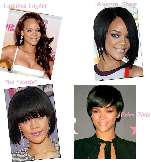 Polls: Rihanna's Hair Evolution