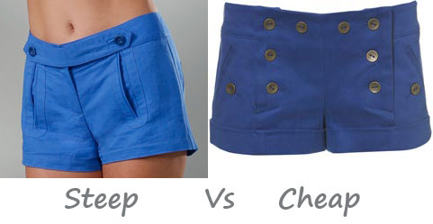 Steep vs. Cheap: Cocktail Shorts