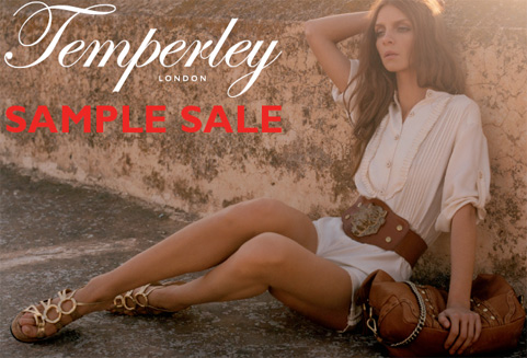 Grab Your Diary: Temperley London Sample Sale in Cambridge!