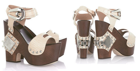 Chunky Footwear: Cavalli Wedges