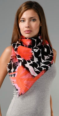 Shopping: DVF Indochine Scarf