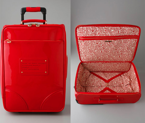 Travel in Style: Marc Jacobs Patent Wheely