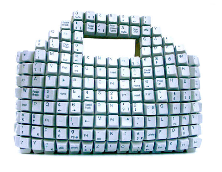Channel Your Inner Geek: Keyboard Shopping Bag