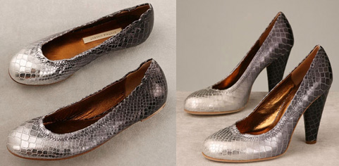 Twelfth St. by Cynthia Vincent: Snakeskin Shoes