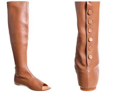Fashion Misstep: Peep-toe boots by Sigerson Morrison