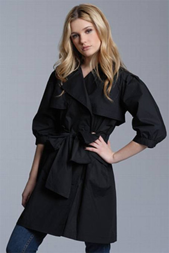 Summer Buys: Full Circle Trench Coat With Detachable Bolero
