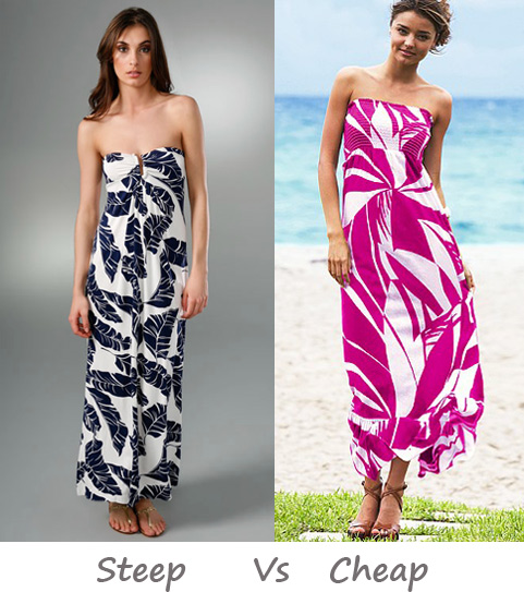 Steep vs. Cheap: Graphic Maxi Dress