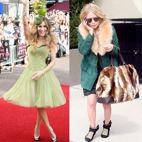 SJP vs. MK: Fashion Victims or Fashion Visionaries?