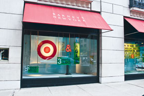 The Odd Couple: Target + Barney's