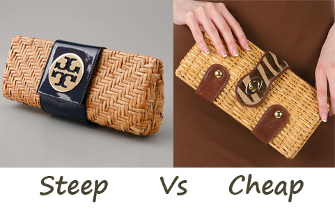Steep vs. Cheap: Woven Clutches