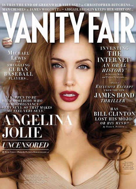 Angelina Jolie Goes Glam for Vanity Fair