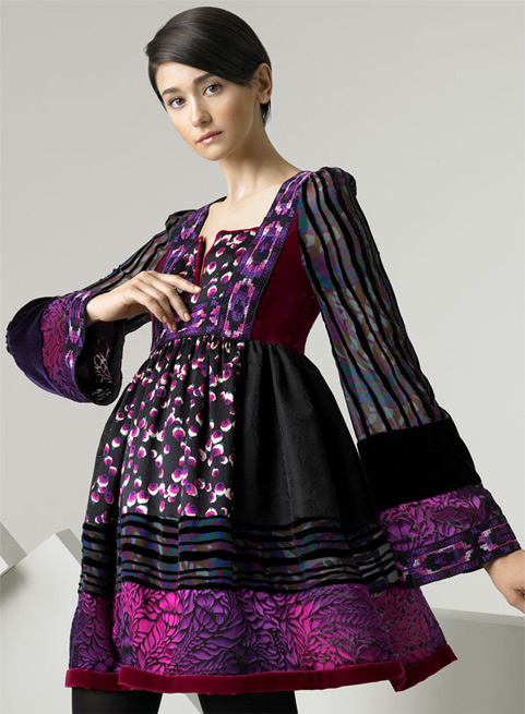 Shopping: Anna Sui Patchwork Dress