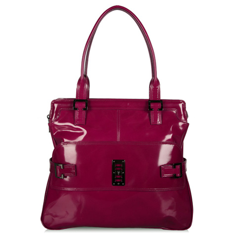Falling in love with Fall: Mulberry Maggie in Raspberry