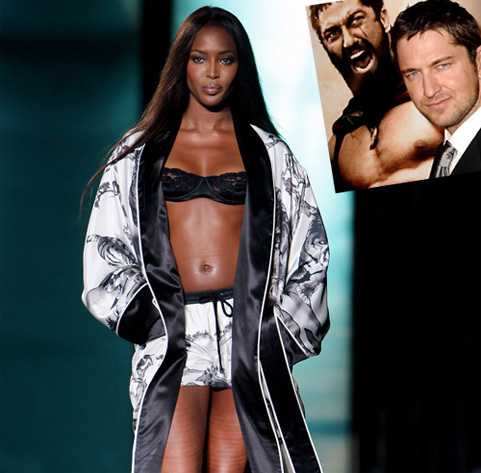 Actor Gerard Butler doesn't know who Naomi Campbell is. Wow, really?