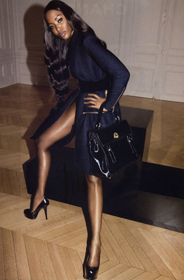 Naomi For YSL: Another Pic