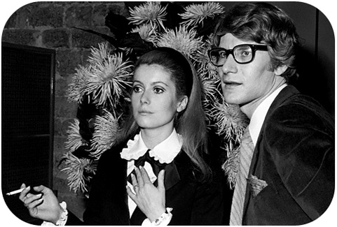 Yves Saint Laurent dies aged 71