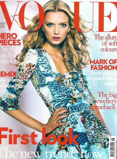 Cover Girl: Lily Donaldson Lands Vogue UK