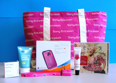 July Giveaway: Sony Ericsson Z750 VIP Package
